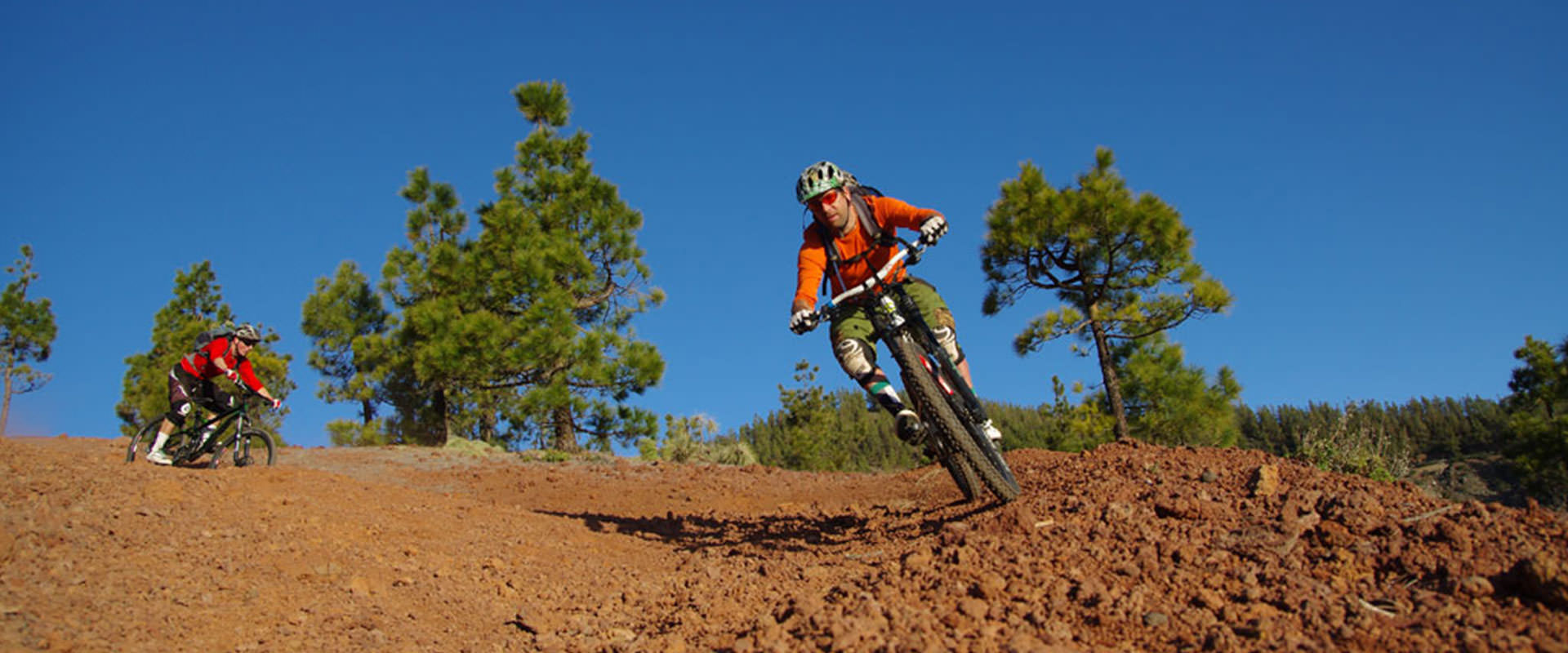 enduro mountain bike holidays header image