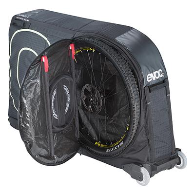 Bike bag hire in Lake Garda - Evoc bike bag hire from Adrenalin Rehab