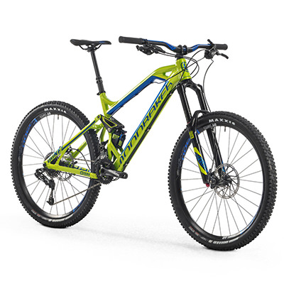 Mondraker Enduro Bike For Hire for your cycle holiday with Adrenalin Rehab