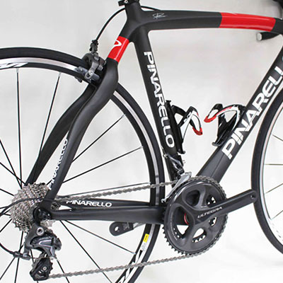 The best full carbon Pinarello Road bike for hire with Adrenalin Rehab